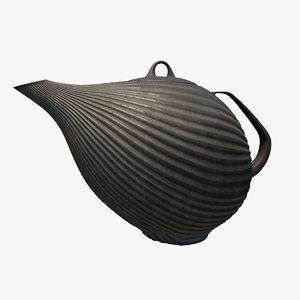 jonathan adler teapot 3D model