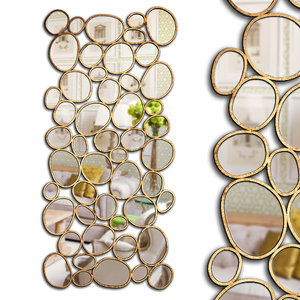 mirrors set 20 3D model