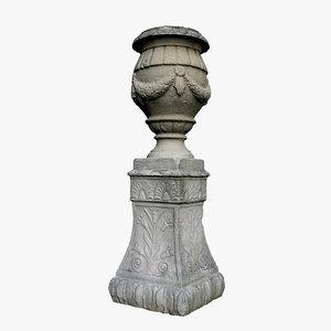 medieval vase 3D model