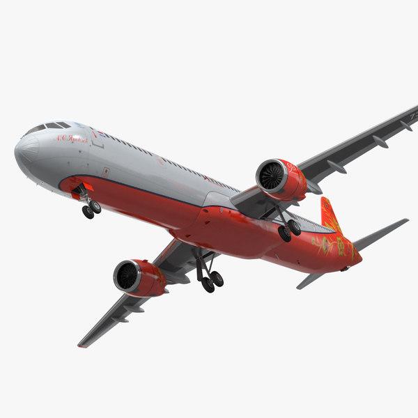 mc 21 aeroflot twinjet 3D model