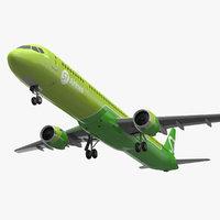 mc 21 s7 airlines 3D