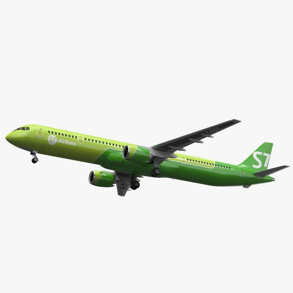 mc 21 s7 airlines model