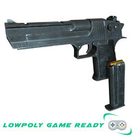 3D ready desert eagle model