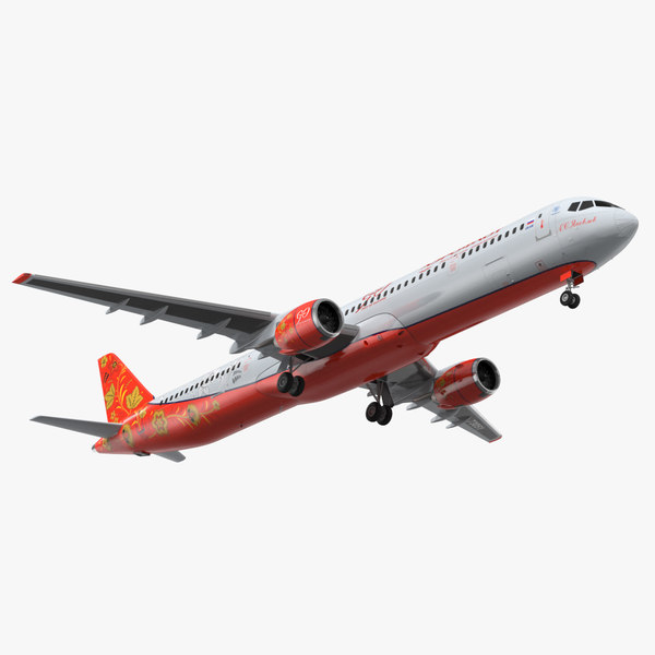3D mc 21 aeroflot model