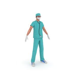 3D model surgeon doctor