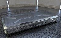 3D sci-fi military case