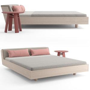 fusion bed 3D model