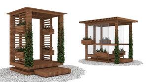 modern alcoves 3D