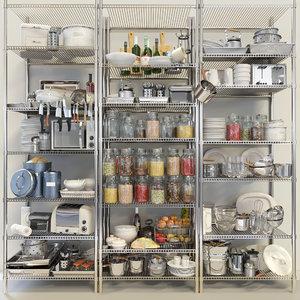 kitchen set model