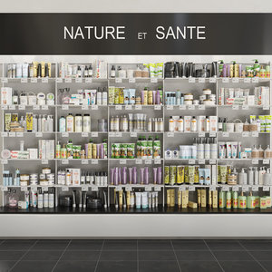 shops salons 3D model