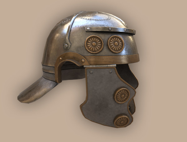realistic ancient galea 3D model