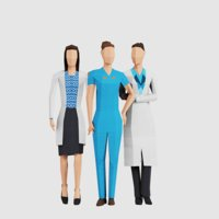 women people pack 3D model