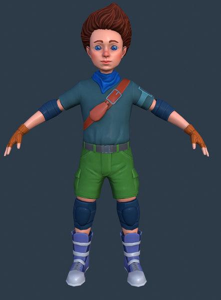 boy ready 3D
