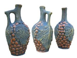 3D model magic bottle old wine