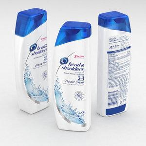 shampoo 3D model