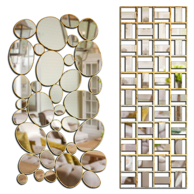 3D mirrors set 39 model
