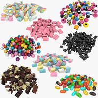 candy pile 3D model