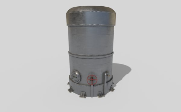 3D silo pbr