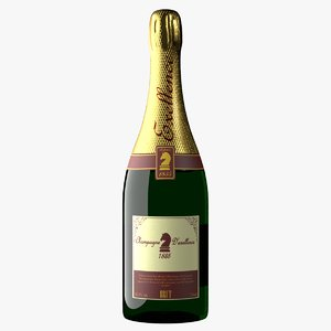 unbranded champagne realistic model