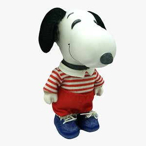 3D snoopy games film model