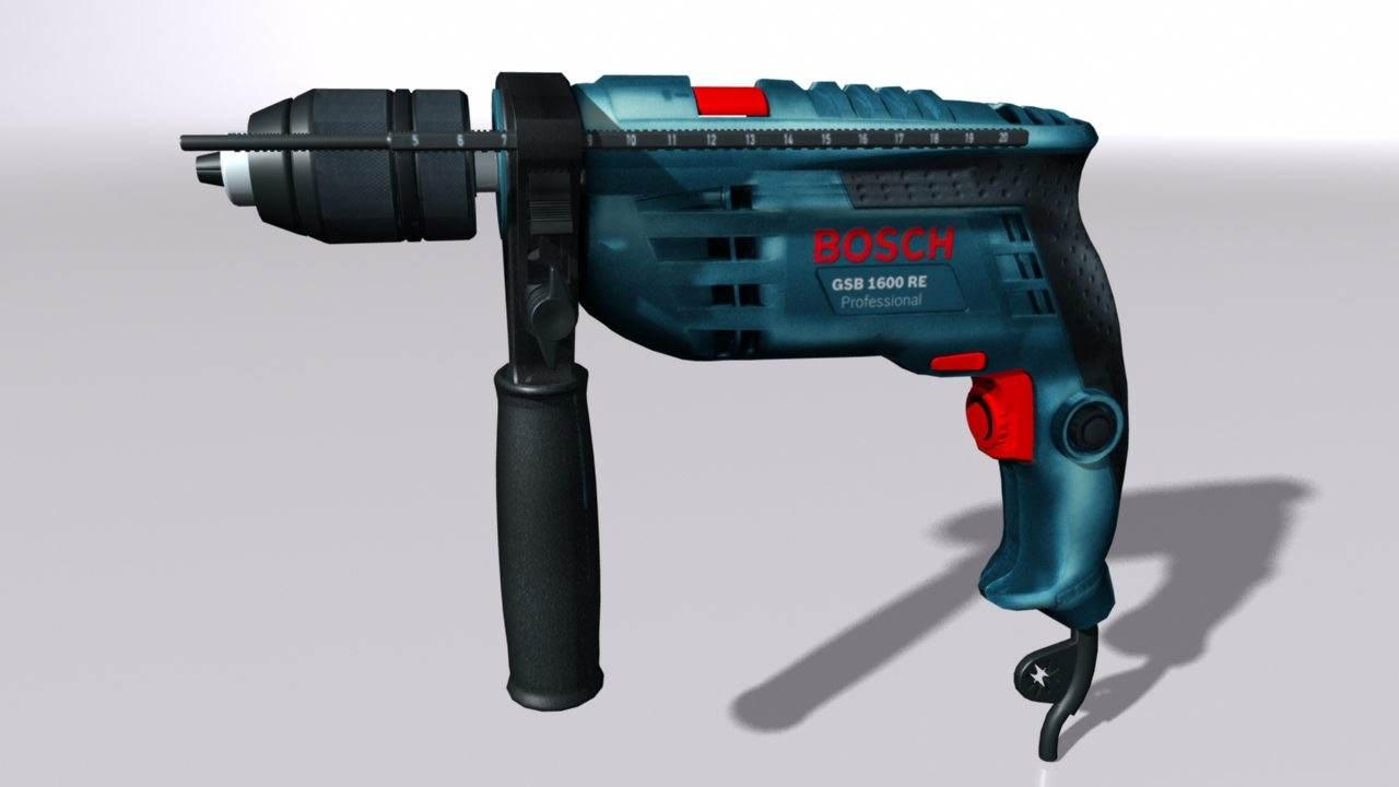 3D rotary drill