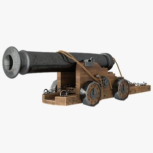 vessel cannon model