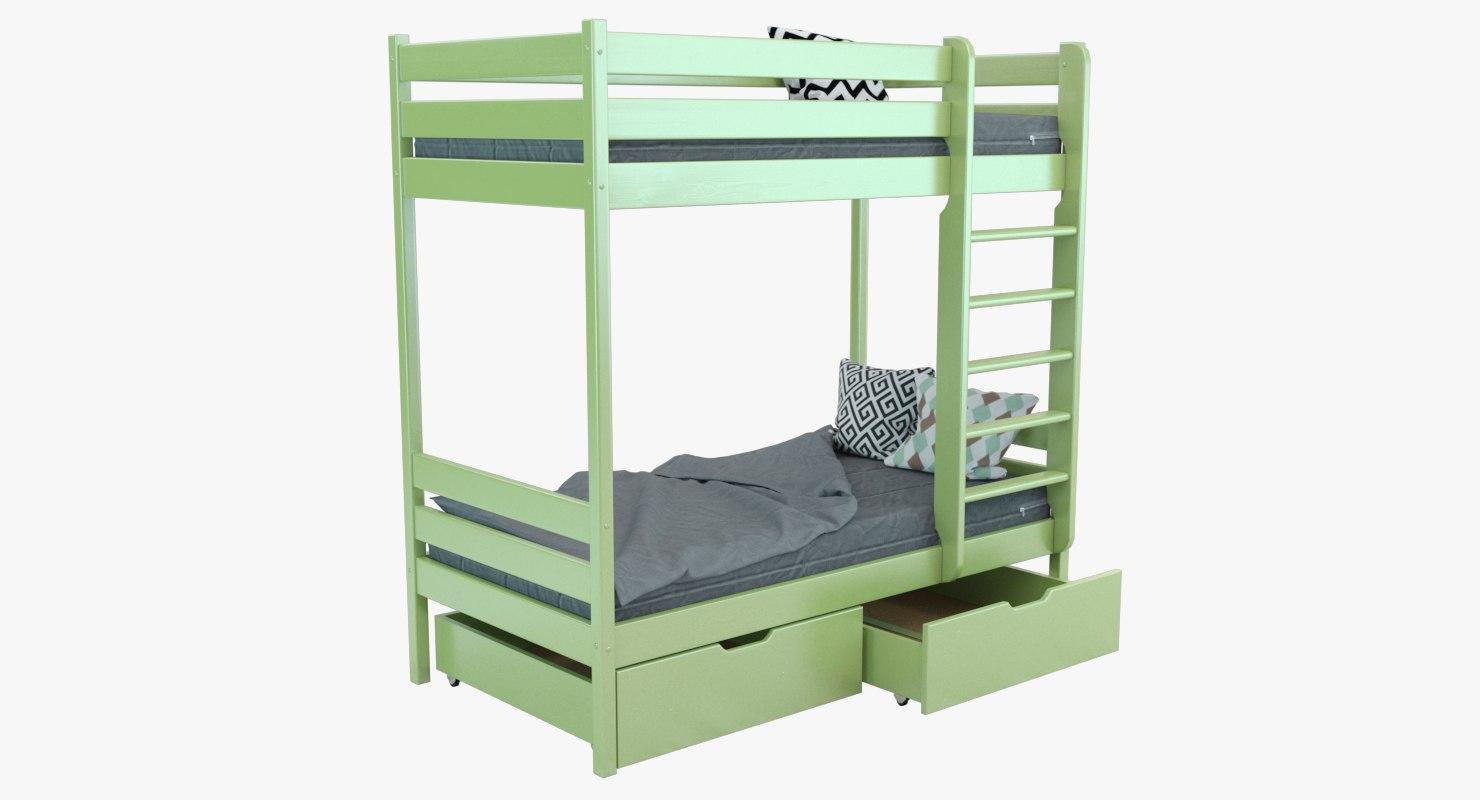 łóżko Dziecięce Ikea 01