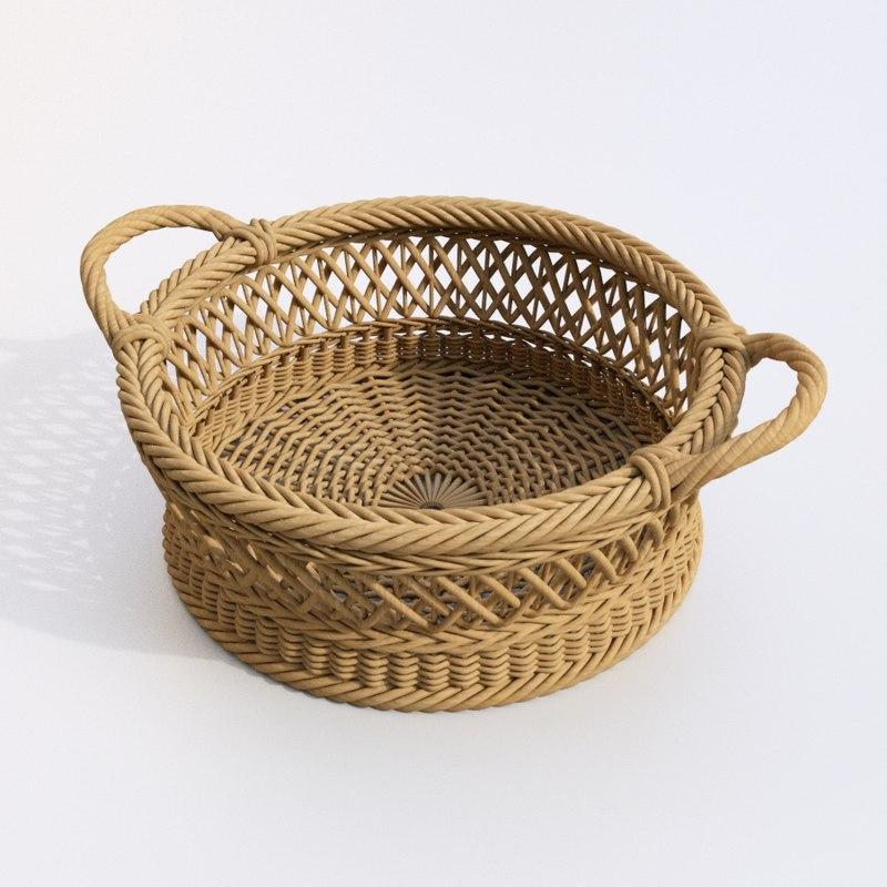 3D basket korb