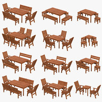 Garden furniture pack