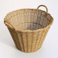basket 3D model