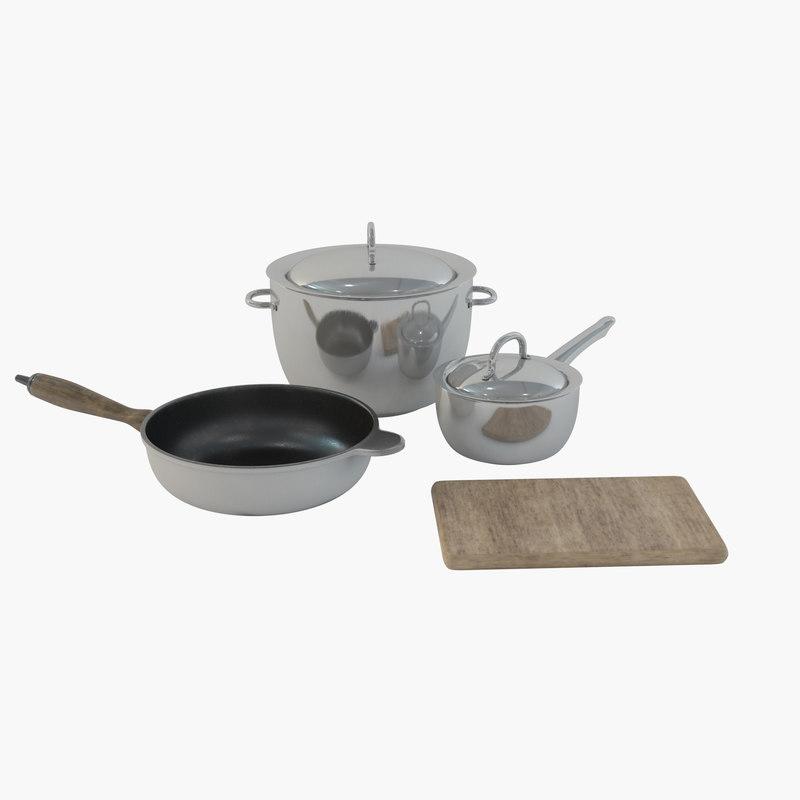 plate dish utensil model