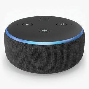 amazon echo dot 3rd 3D model