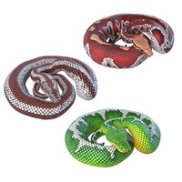 rigged pythons reptiles animation 3D model