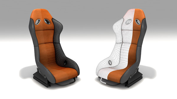 sport seat 3D