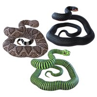 3D snakes wildlife reptiles