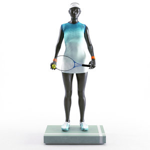 tennis woman mannequin model