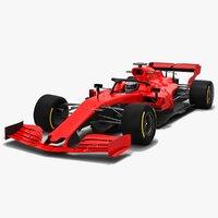 3D formula 1 season 2019 model