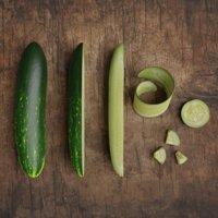 cucumber photorealistic scene 3D