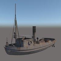 old boat model
