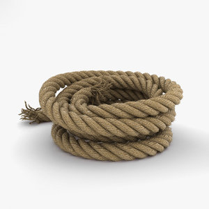 rope tool industrial 3D model