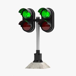 semaphore lighting model