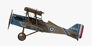 3D royal aircraft se5a william