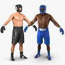 Boxers 3D Models Collection