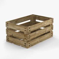 3D fruit crate