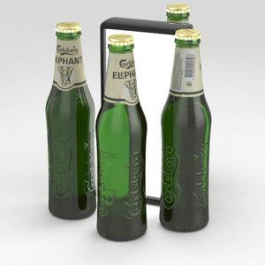 3D prcr1 beerbottle