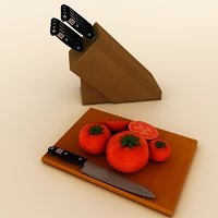 Tomatoes and Knifes