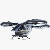airbus flying taxi model