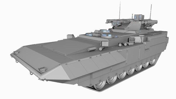 3D games armor model