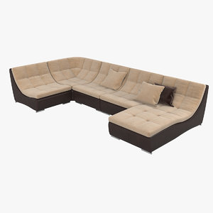 3D albert stein lawrence sofa model