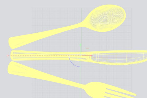 utensils 3D model